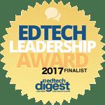 EdTech Digest Leadership Award Finalist 2017