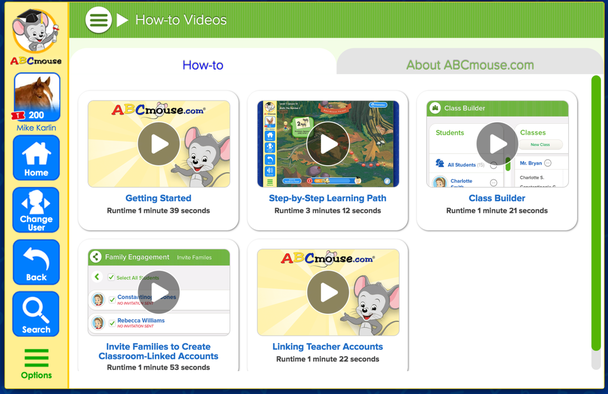 ABCmouse: Educational Games, Books, Puzzles, and Songs for